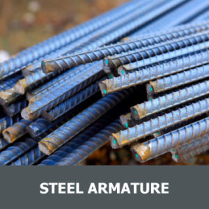 Steel armature