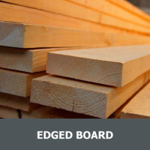 Edged board